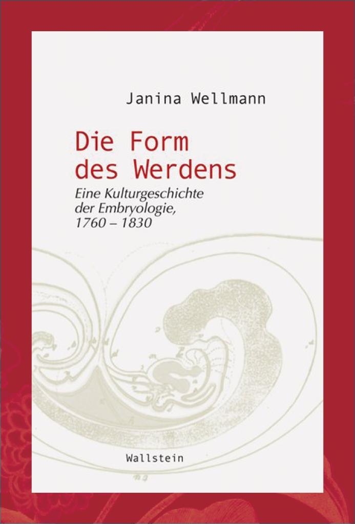 Book Cover Janina Wellmann Die Form des Werdens Wallstein 2010